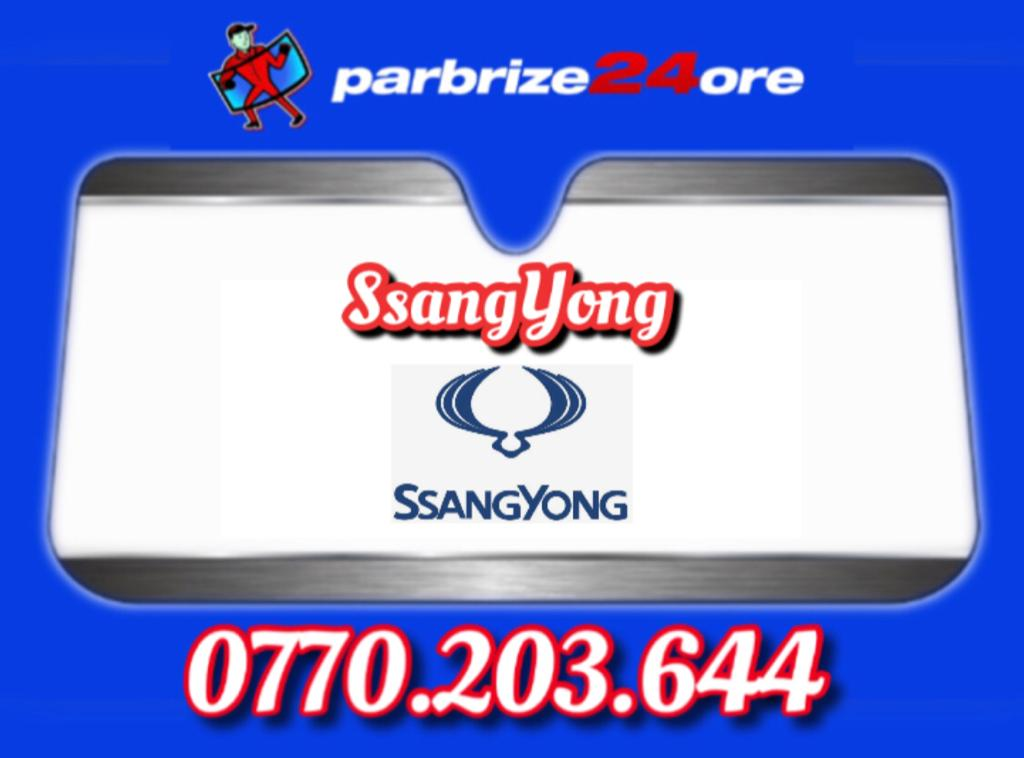 parbrize ssangyong